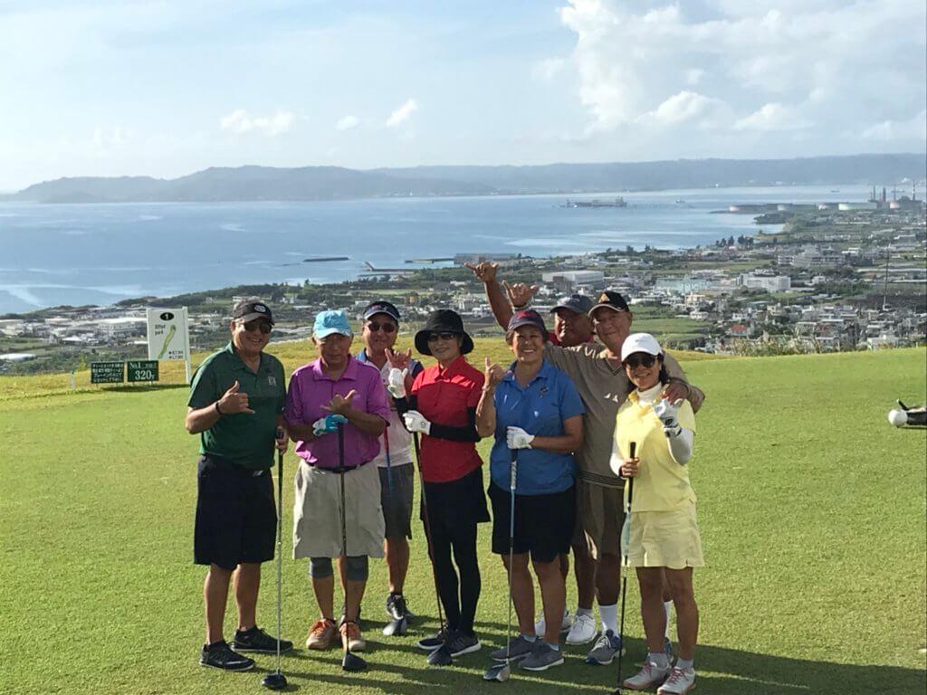 ハワイから来沖!沖縄ゴルフツアーと沖縄料理を満喫♪